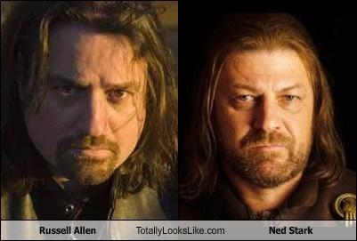 Russell Allen Totally Looks Like Sean Bean (Ned Stark)