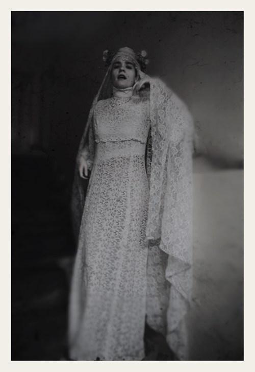 dress,gown,lace,strangle,turtleneck,veil
