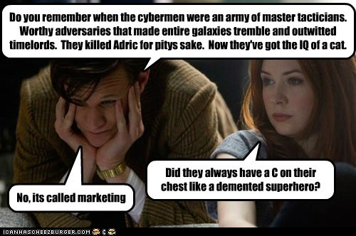 marketing,karen gillan,the doctor,Matt Smith,cybermen,doctor who,superhero,amy pond