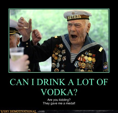 CAN I DRINK A LOT OF VODKA?