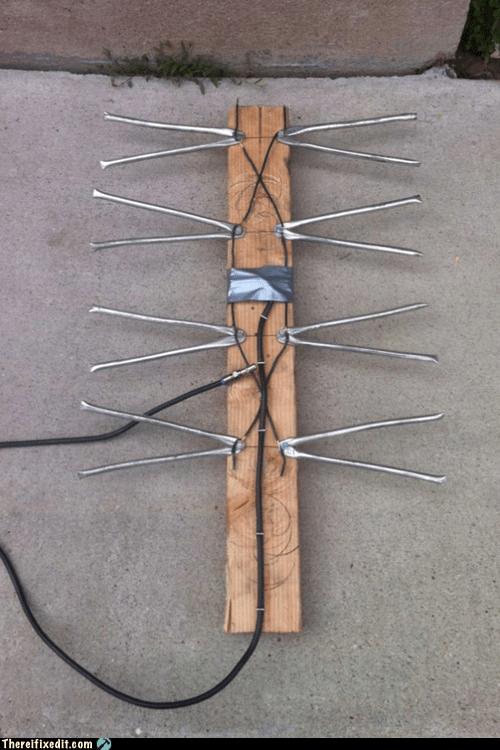 2x4,antenna,reception,tv antenna