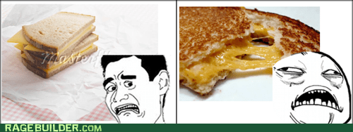 Grilled Cheese..