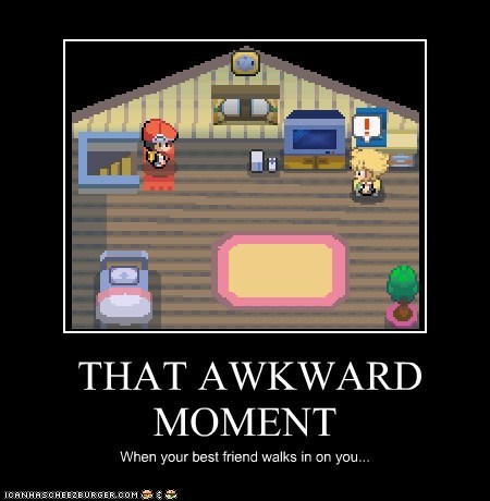 THAT AWKWARD MOMENT