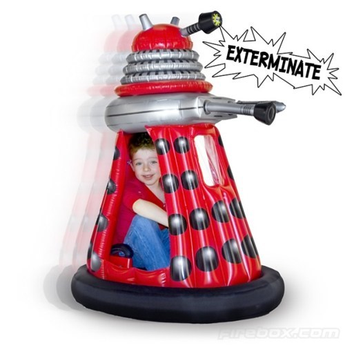 Inflatable Dalek of the Day