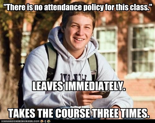 College is gonna be so fuckin easy, bro!