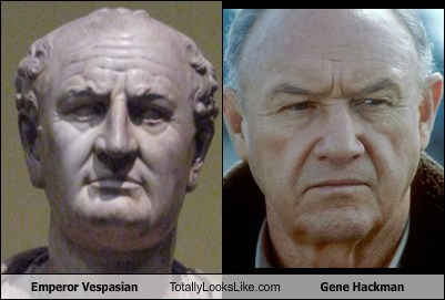 Emperor Vespasian Totally Looks Like Gene Hackman
