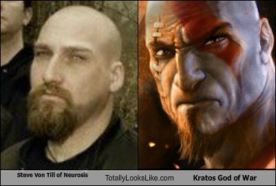 Steve Von Till of Neurosis Totally Looks Like Kratos God of War