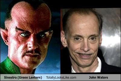 Sinestro (Green Lantern) Totally Looks Like John Waters