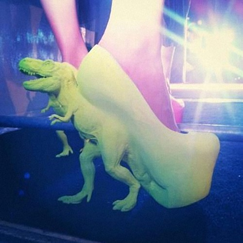 Poorly Dressed: Awesome T-Rex High Heels