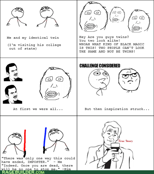 Rage Comics: Twinevitable Betrayal
