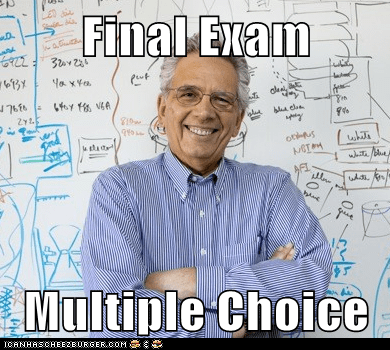 Final Exam  Multiple Choice