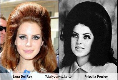 Lana Del Rey Totally Looks Like Priscilla Presley