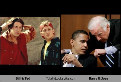 Bill & Ted Totally Looks Like Barry & Joey