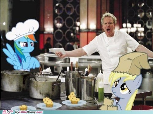 derpy hooves,gordon ramsay,hells-kitchen