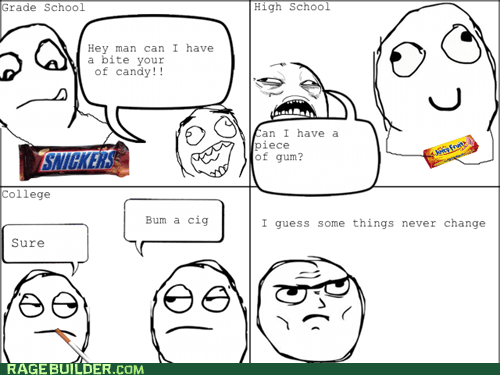 Rage Comics: Some Things Never Change