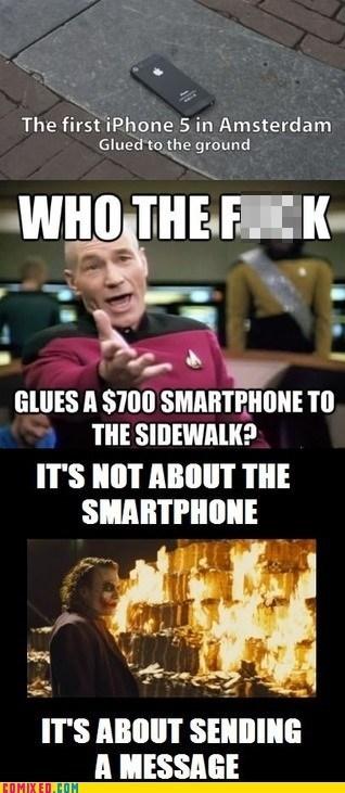 glue,iphone 5,its-about-sending-a-message,joker