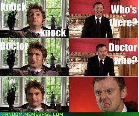 doctor who,the master,knock knock jokes