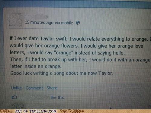 Art of Trolling: Rhyme That, Taylor!