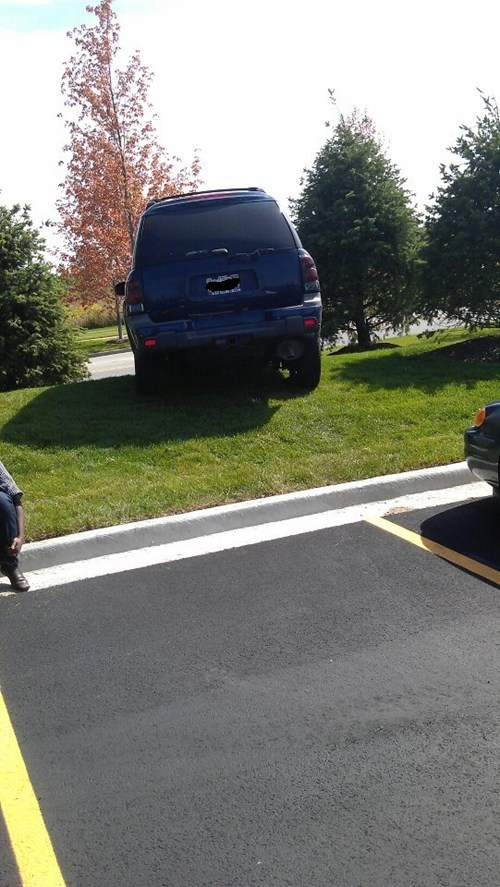 Parking Job FAIL