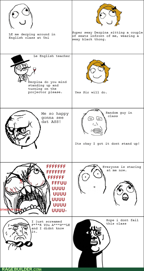 Rage Comics: Think Before You Speak