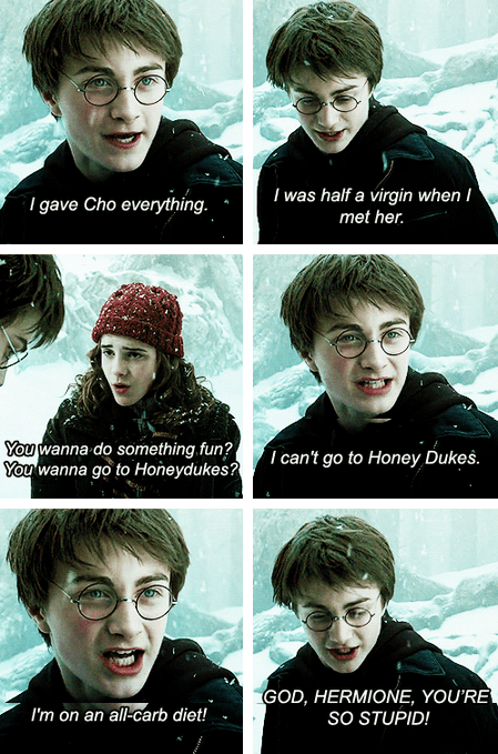 actor,celeb,Daniel Radcliffe,emma watson,funny,Harry Potter,mean girls,Movie