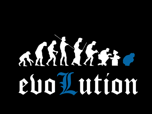anime,death note,evolution,l,manga