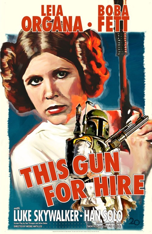 Fett Noir Posters of the Day