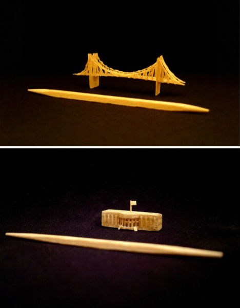 Toothpick Art WIN
