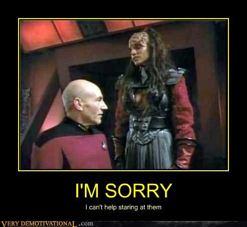 One Pervy Captain Picard
