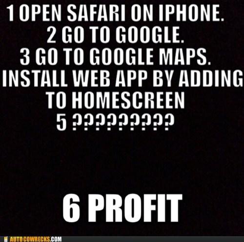 fixed,google maps,ios 6,workaround