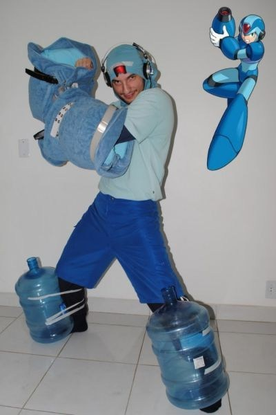 Mega Man Learned Thrift Man's 'Costume'