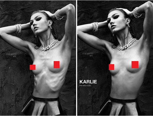 The Daily What: Reverse Airbrushing of the Day