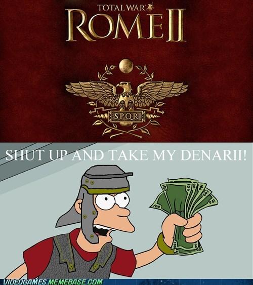 denarii,rome II,total war