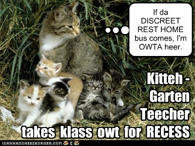 KKPS: KittehGarten Recess