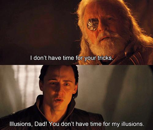 dad,illusions,tricks