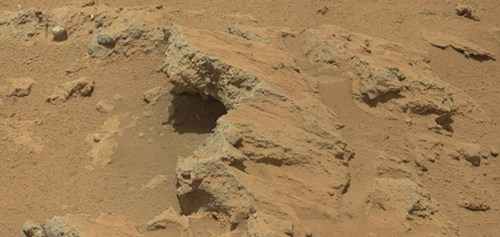 Martian River Bed of the Day