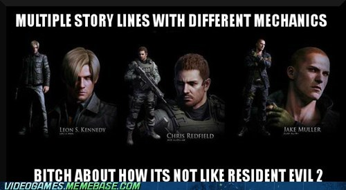 But Resident Evil 2 Was One of the Best Games Ever...