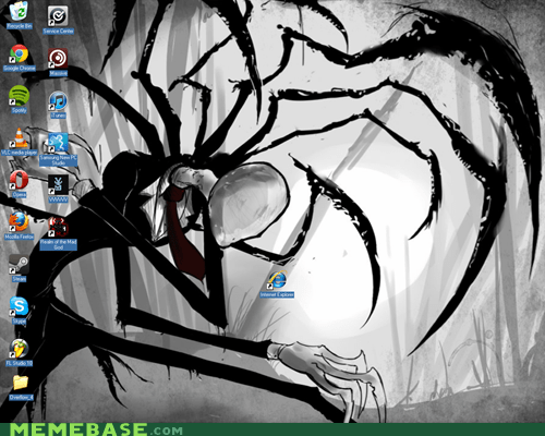 desktop,internet explorer,slenderman