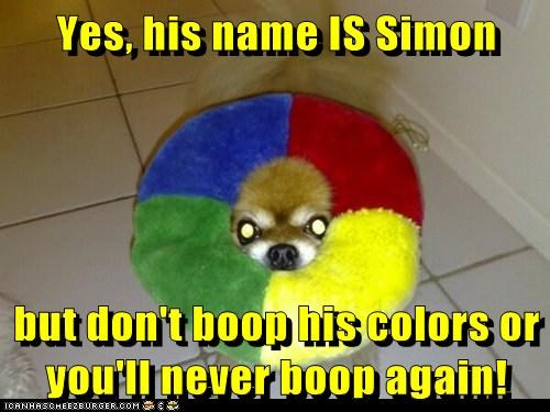 "Simon Says ""NOPE"""