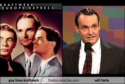 Guy from Kraftwerk Totally Looks Like Will Forte