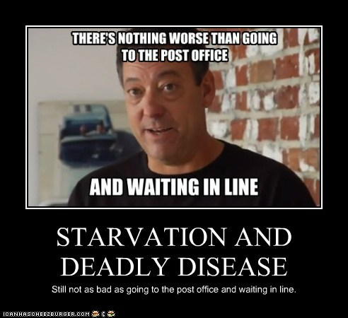 STARVATION AND DEADLY DISEASE