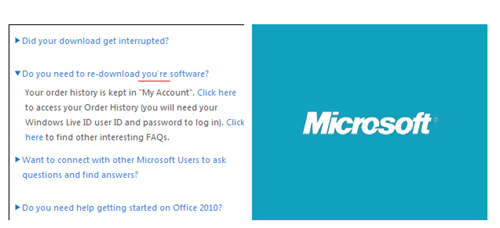 Come On Now, Microsoft!