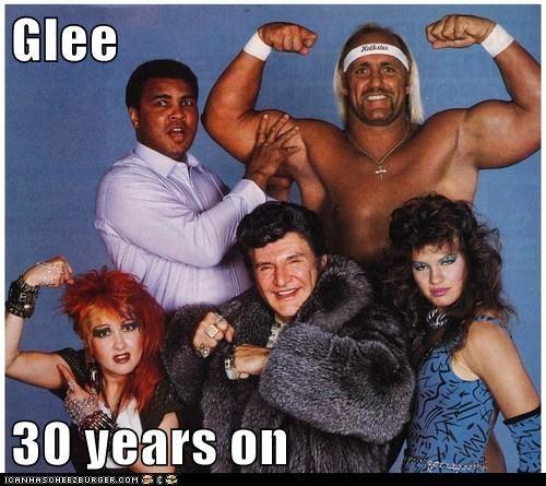 actor,cyndi lauper,funny,Hulk Hogan,liberace,Muhammad Ali,Music,sports