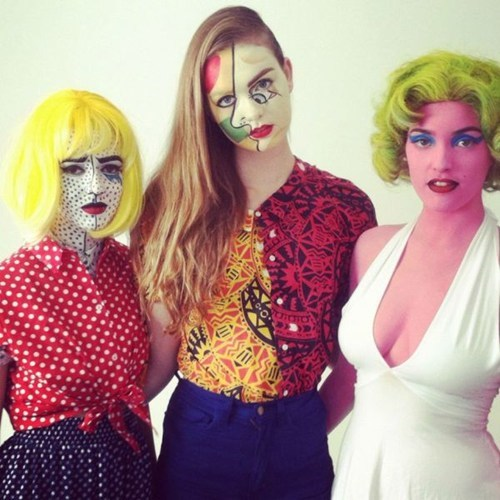 The Ladies of Warhol, Picasso and Lichtenstein