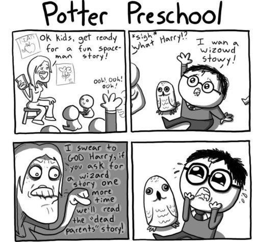 Preschool Was Tough For Wizards