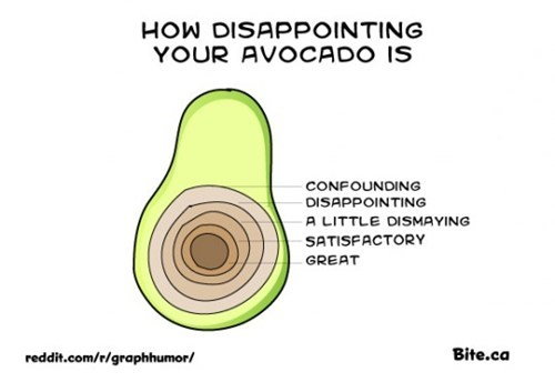 Avocado, I Am Disappoint
