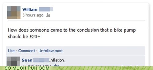 answer,double meaning,facebook,inflation,literalism,pump,question