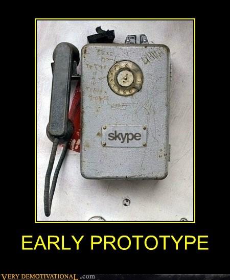 skype,prototype,phone