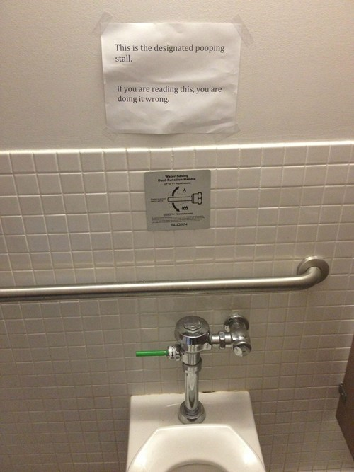 Bathroom Warning WIN