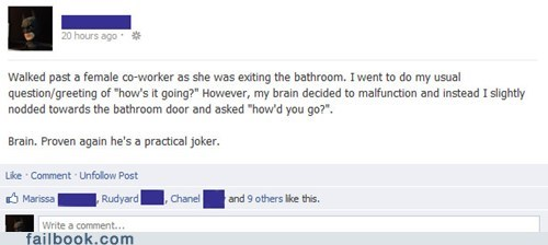 bathrooms,scumbag brain,Awkward Moment